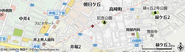 福岡県北九州市小倉北区高峰町16周辺の地図
