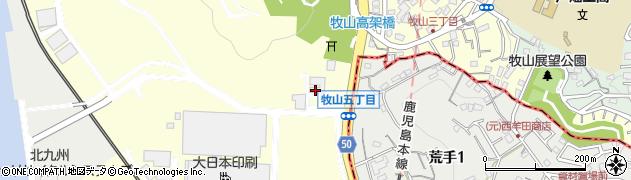 AGCセラミックス株式会社周辺の地図