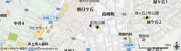 福岡県北九州市小倉北区高峰町15周辺の地図