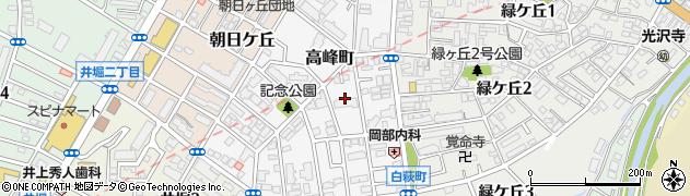 福岡県北九州市小倉北区高峰町9周辺の地図