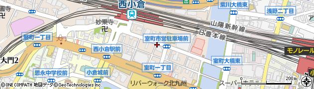 一の鳥 西小倉店周辺の地図