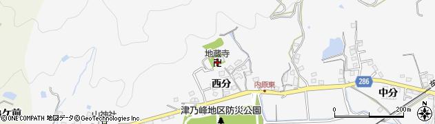 地蔵寺周辺の地図