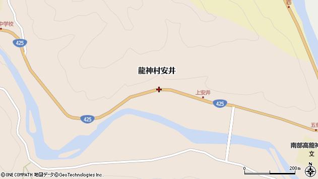 〒645-0416 和歌山県田辺市龍神村安井の地図