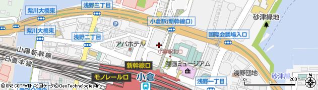 株式会社トヨタレンタリース博多 北九州リース第二チーム周辺の地図