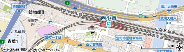 日本貨物鉄道株式会社 九州支社安全周辺の地図