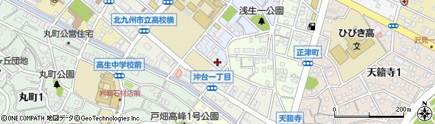 千防タクシー株式会社 配車室周辺の地図