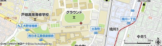 福岡県北九州市戸畑区仙水町周辺の地図