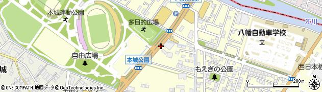 福岡県北九州市八幡西区御開周辺の地図