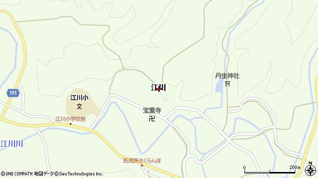 〒649-1442 和歌山県日高郡日高川町江川の地図