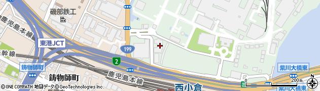 福岡県北九州市小倉北区許斐町1周辺の地図