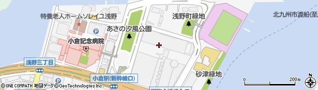 福岡県北九州市小倉北区浅野周辺の地図