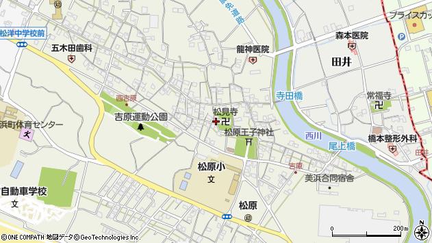〒644-0043 和歌山県日高郡美浜町吉原の地図