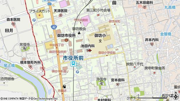 〒644-0002 和歌山県御坊市薗の地図
