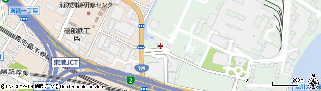 福岡県北九州市小倉北区許斐町15周辺の地図