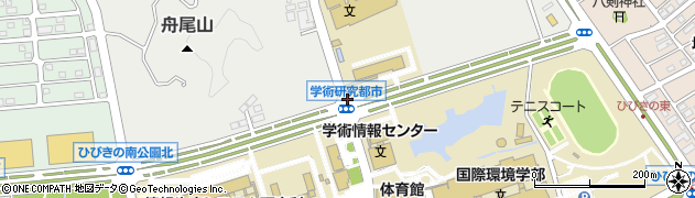 福岡県北九州市若松区ひびきの北周辺の地図
