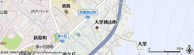 福岡県北九州市門司区大里桃山町周辺の地図