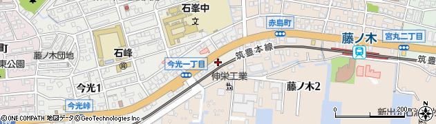 ユーユーホーム周辺の地図