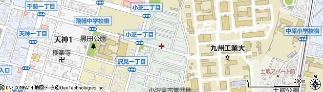 福岡県北九州市戸畑区沢見周辺の地図