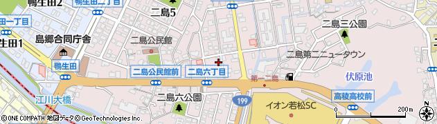 肉の山田屋周辺の地図