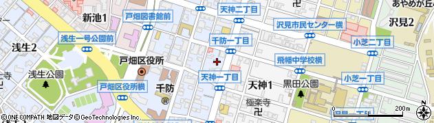 徳泉寺周辺の地図
