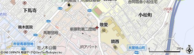 福岡県北九州市門司区別院周辺の地図