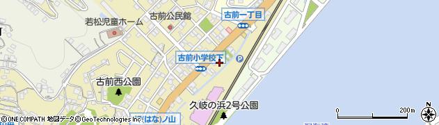 福岡県北九州市若松区古前周辺の地図