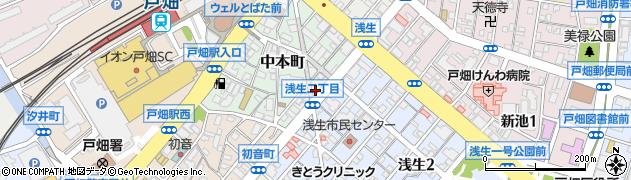 梅田公認会計士事務所周辺の地図