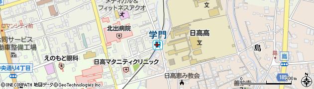 和歌山県御坊市周辺の地図