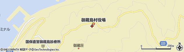 東京都御蔵島村周辺の地図