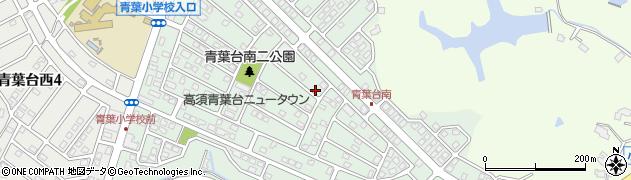 福岡県北九州市若松区青葉台南周辺の地図