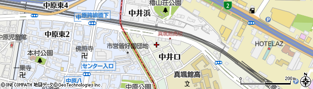 福岡県北九州市小倉北区中井口9 7 住所一覧から地図を検索 マピオン