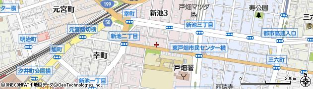 鈴木米穀店周辺の地図