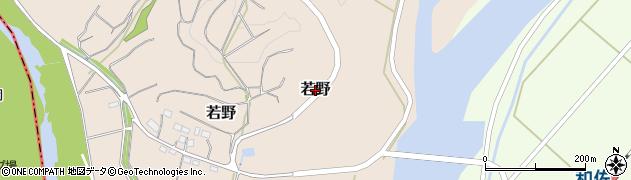 和歌山県日高川町(日高郡)若野周辺の地図