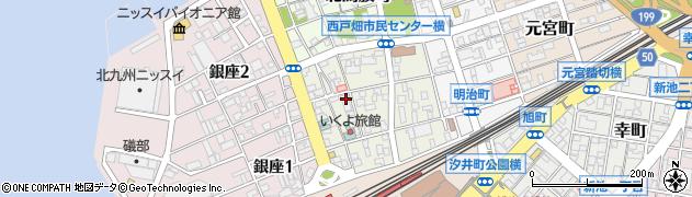 福岡県北九州市戸畑区南鳥旗町周辺の地図