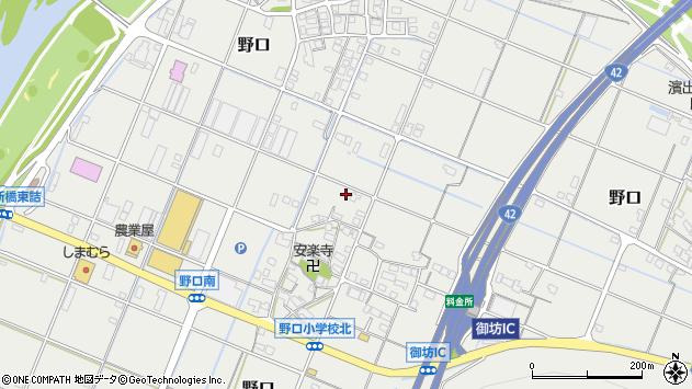 〒644-0031 和歌山県御坊市野口の地図