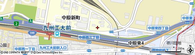 北九州設計工業株式会社周辺の地図