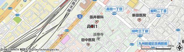 ジェイエスジーウインズサロン門司周辺の地図