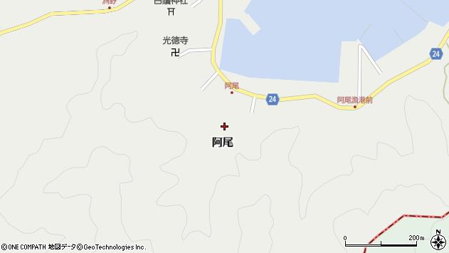 〒649-1232 和歌山県日高郡日高町阿尾の地図
