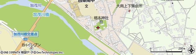 西條神社周辺の地図
