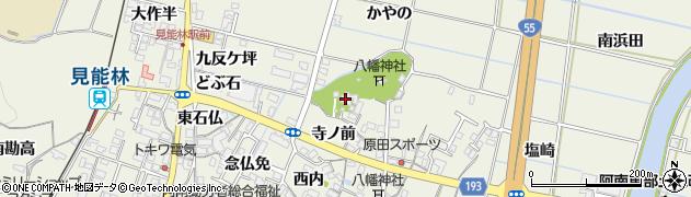 千福寺周辺の地図