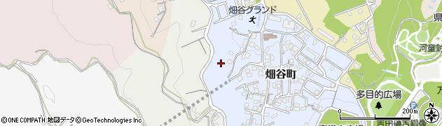 福岡県北九州市若松区畑谷町周辺の地図