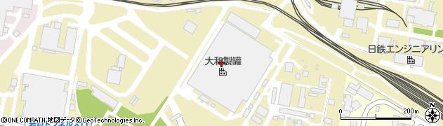 福岡県北九州市戸畑区戸畑周辺の地図