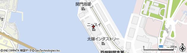 福岡県北九州市戸畑区川代周辺の地図