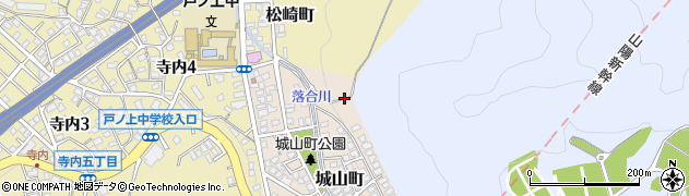 福岡県北九州市門司区城山町周辺の地図
