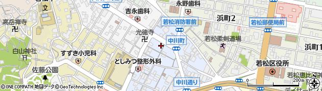 髪屋周辺の地図