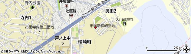 福岡県北九州市門司区松崎町周辺の地図