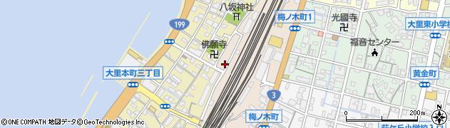 福岡県北九州市門司区梅ノ木町周辺の地図