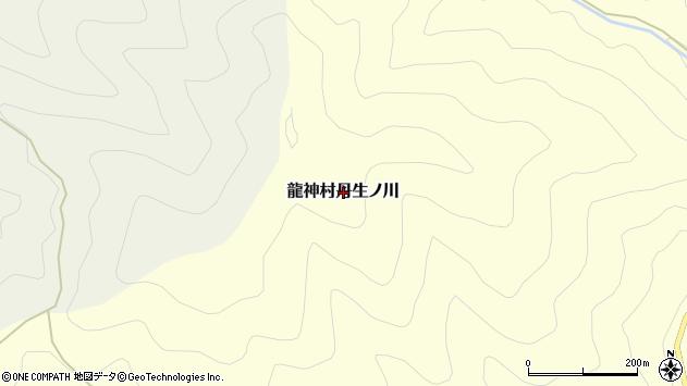 〒645-0412 和歌山県田辺市龍神村丹生ノ川の地図