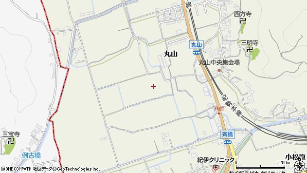 〒644-0013 和歌山県御坊市湯川町丸山の地図