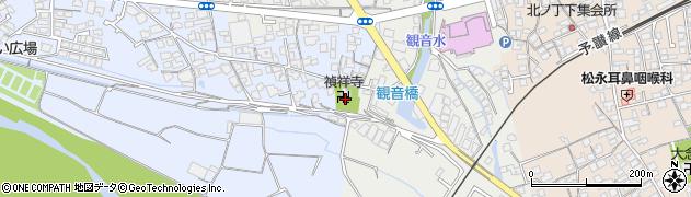禎祥寺周辺の地図
